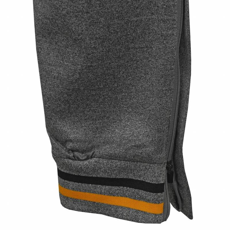 Q1905 Tennis Pants Court Grey / Black / Yellow