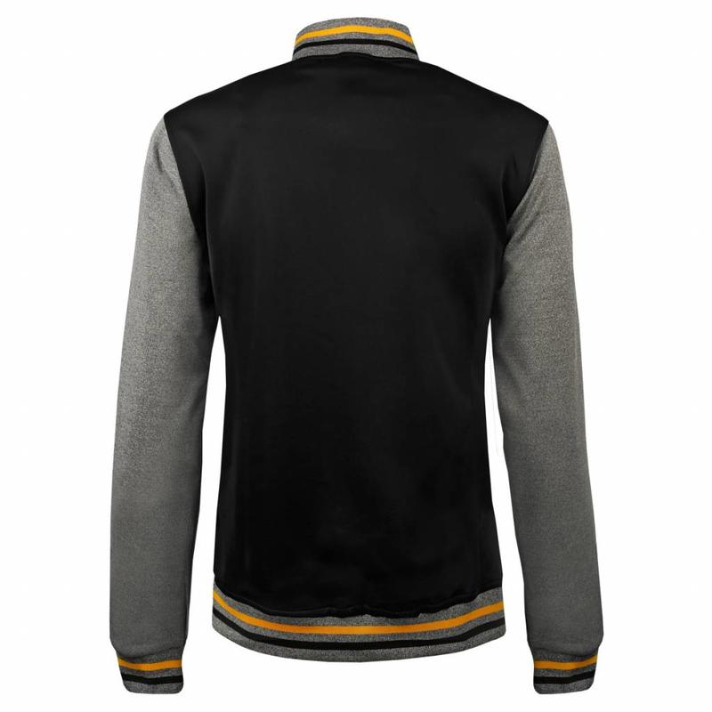 Q1905 Tennis Jacket Slice Black / Grey / Yellow
