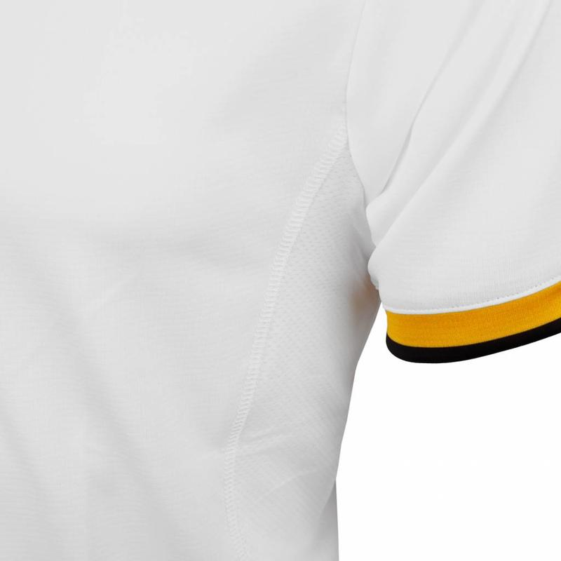 Tennis Polo Rally White / Yellow / Black