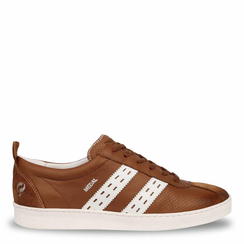 Heren Sneaker Medal Cognac / Cloud Dancer