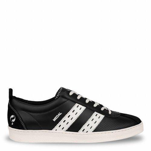 Heren Sneaker Medal Black / White