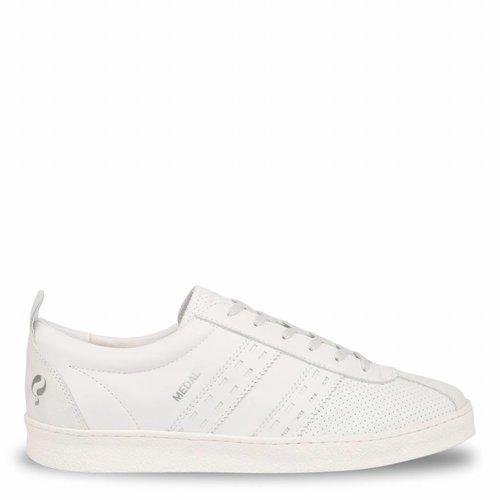 Heren Sneaker Medal White