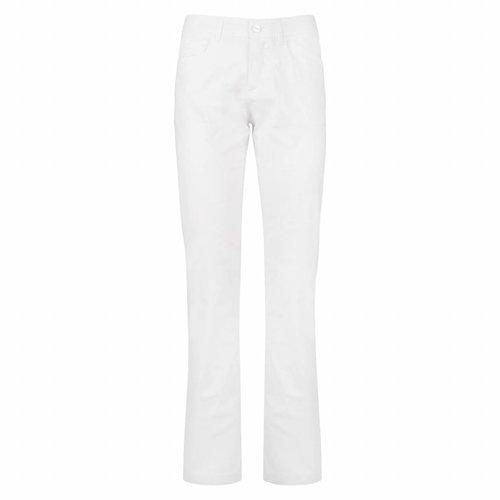 Women's Pants Fade White