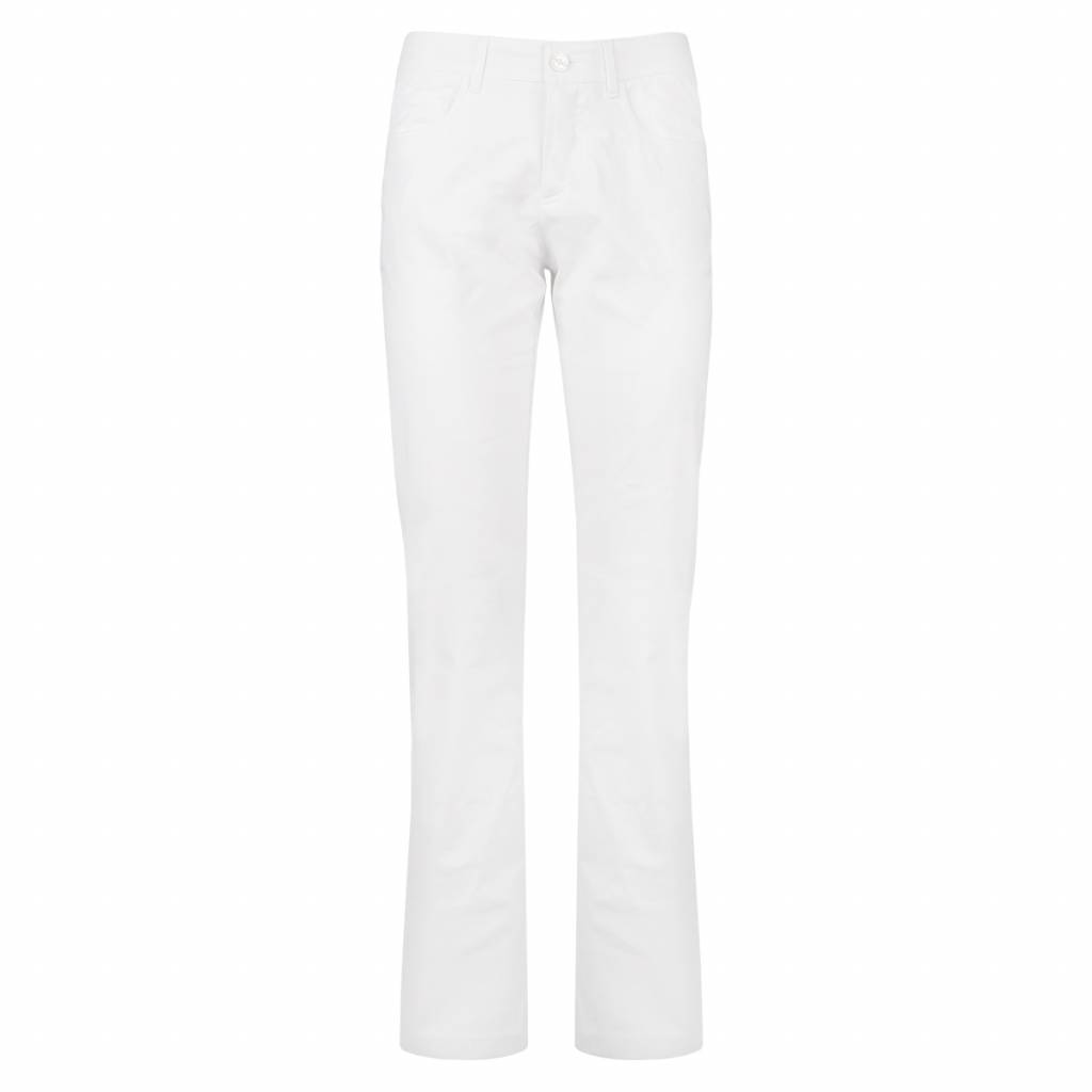 Image of Dames Broek Fade White
