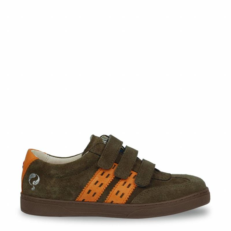 Heren Sneaker Legend '69 JR Army Green / Warm Orange