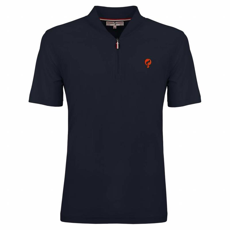 Heren Polo JL One Deep Navy