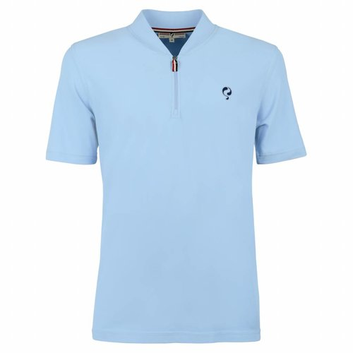 Heren Polo JL One Lt Azul
