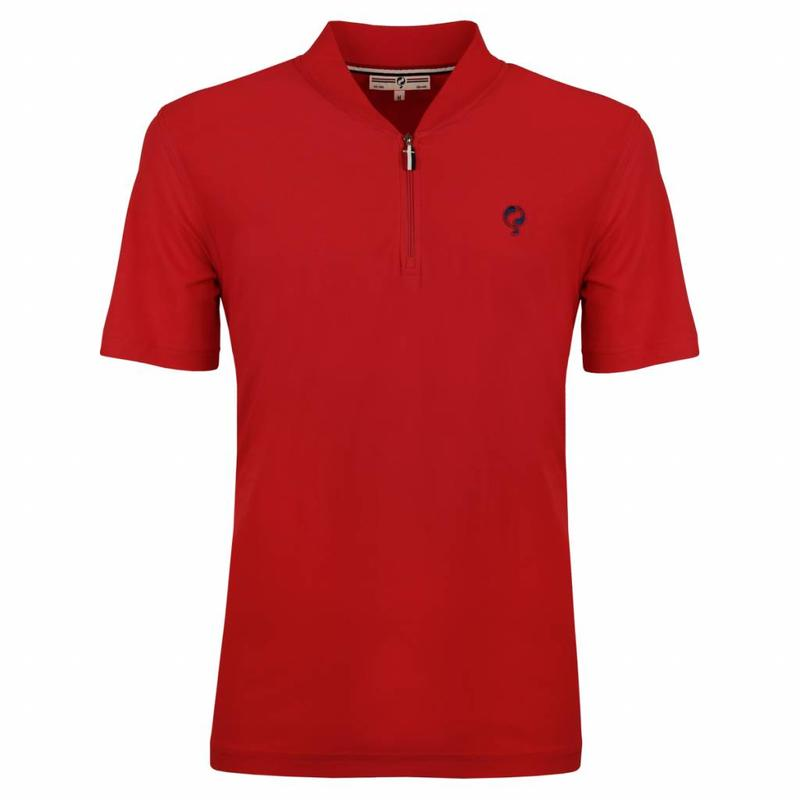 Q1905 Heren Polo JL One Red
