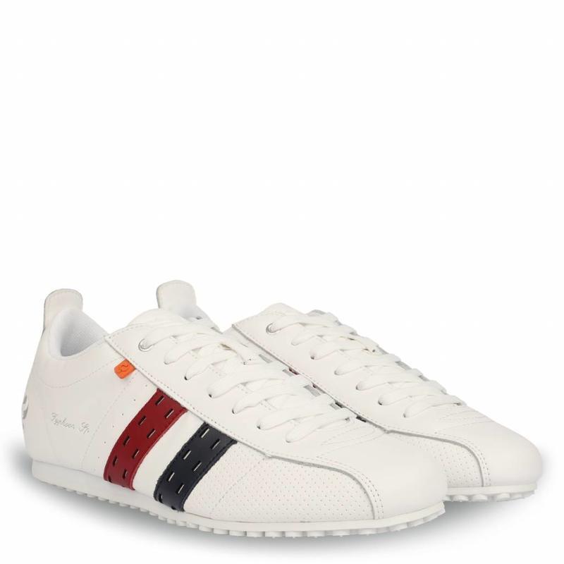 Men's Sneaker Typhoon SP White / Red-Deep Navy