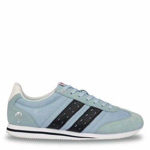 Heren Sneaker Cycloon Sky Blue / Deep Navy
