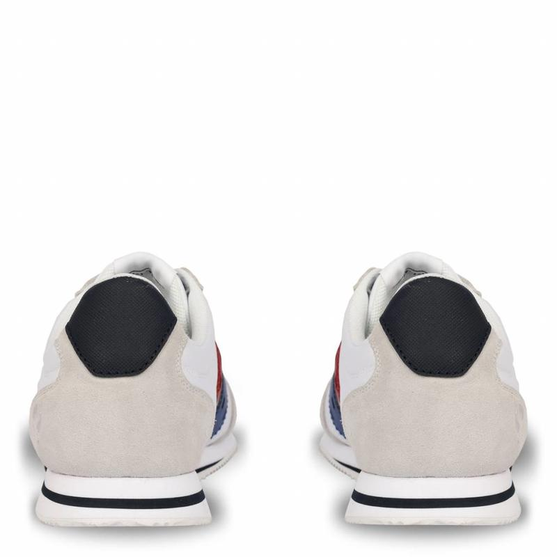 Men's Sneaker Cycloon White / Ice-Red-Skydiver