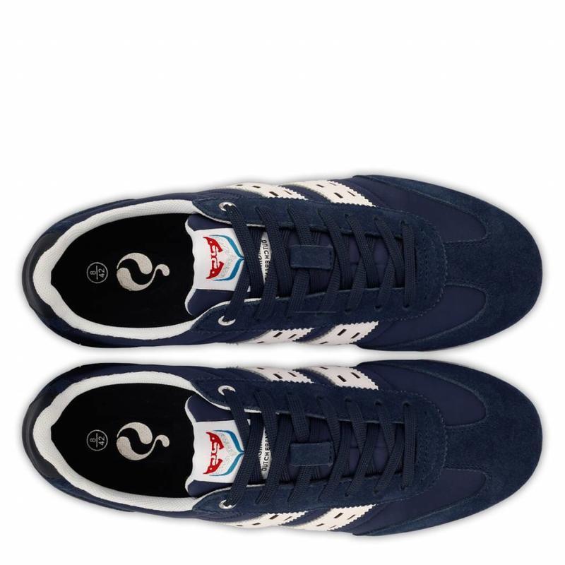 Heren Sneaker Cycloon Dk Denim / White