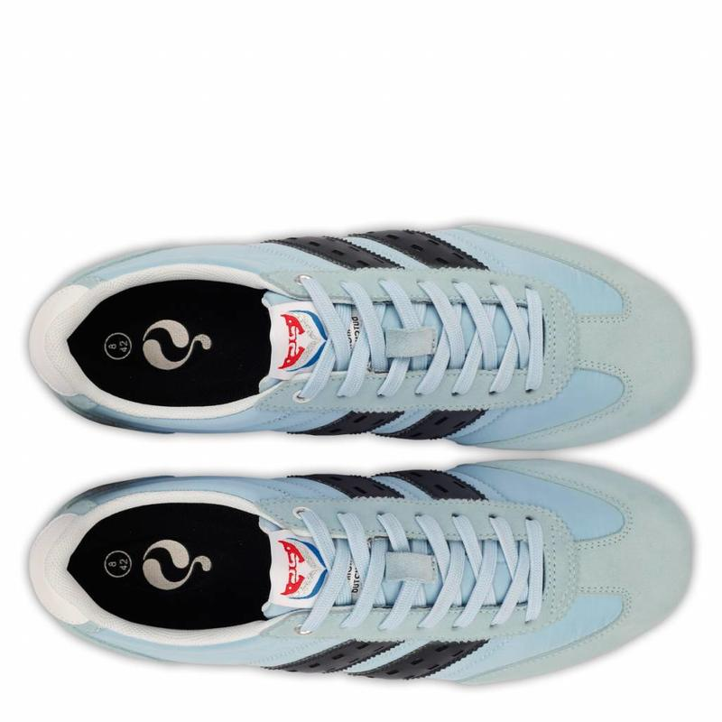 Heren Sneaker Cycloon Sky Blue / Deep Navy