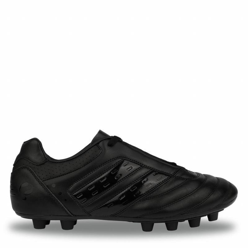 Football Boot Hattrick FG Black / Black