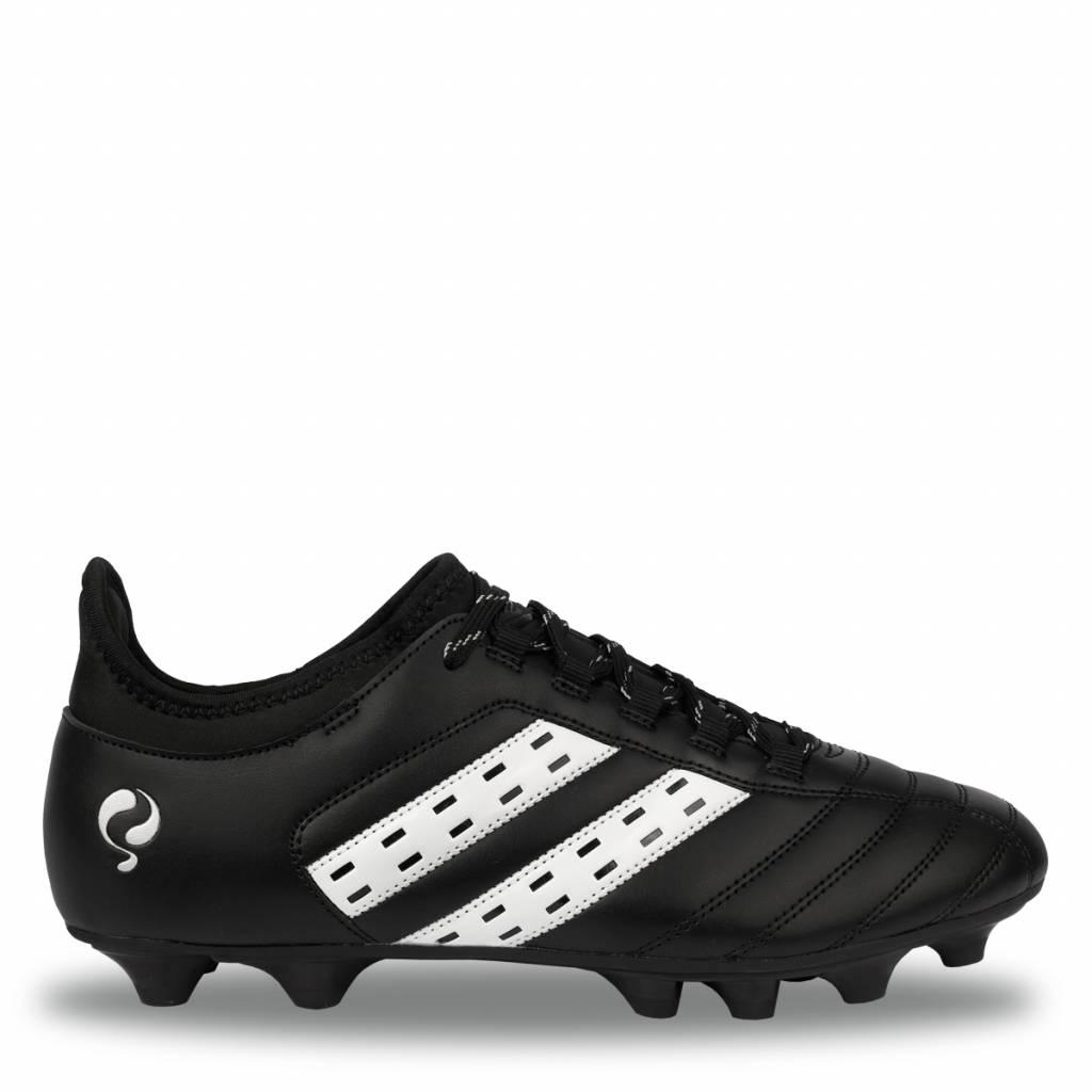 Voetbalschoen Treble FG Black - White