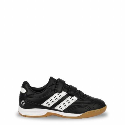 Voetbalschoenen Goal JR Indoor Velcro Black / White (28-33)