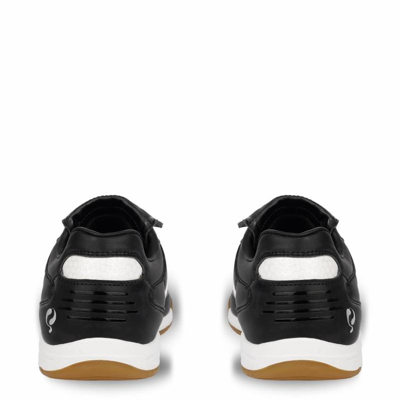 Voetbalschoen Goal JR Indoor Lace Black / White (34-39)