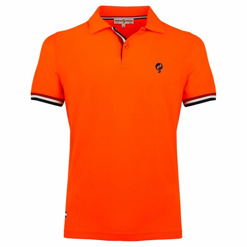 Heren Polo Joost Luiten Neon Orange