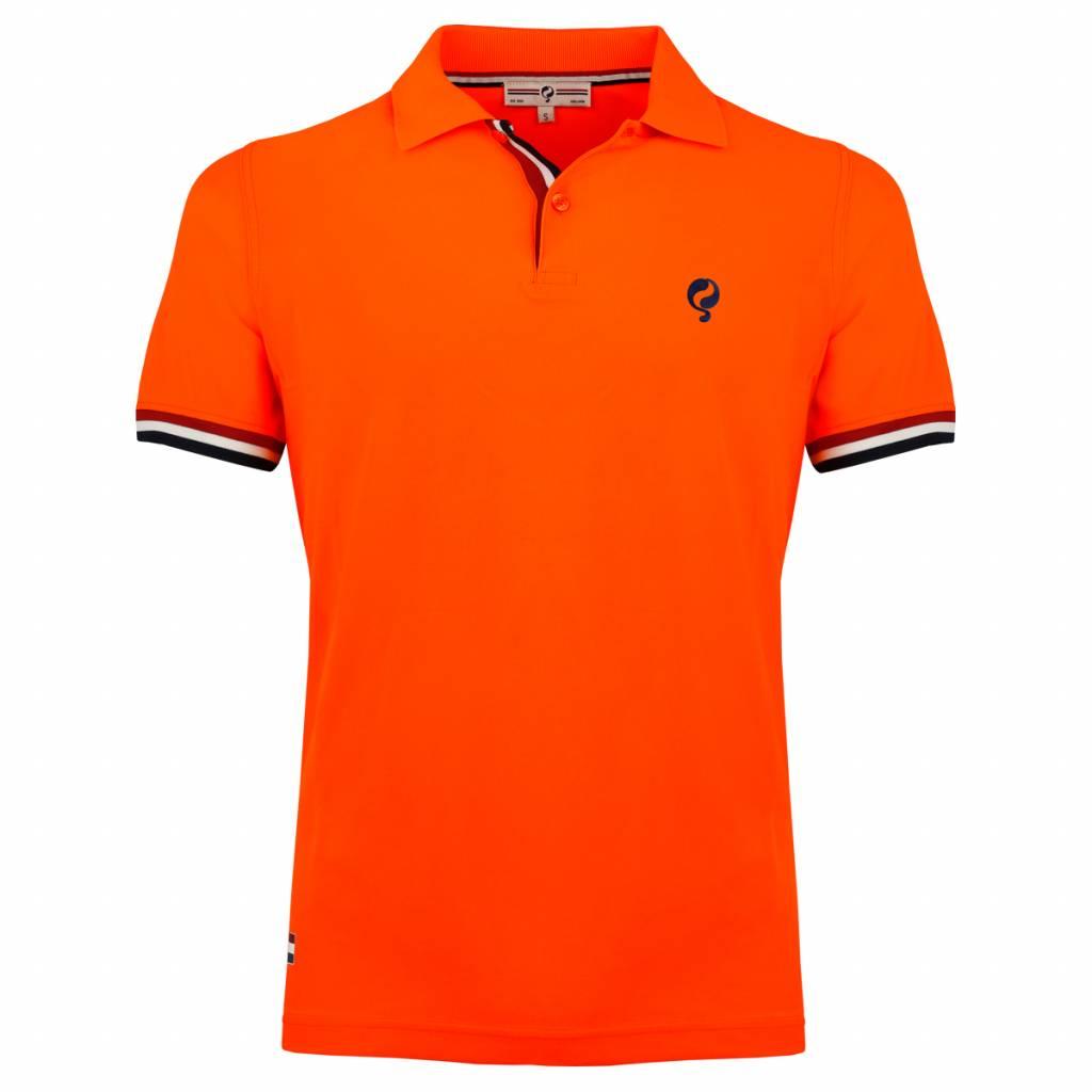 Heren Polo Joost Luiten Neon Orange