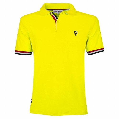 Heren Polo Joost Luiten Neon Yellow