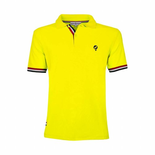 Kids Polo Joost Luiten Neon Yellow