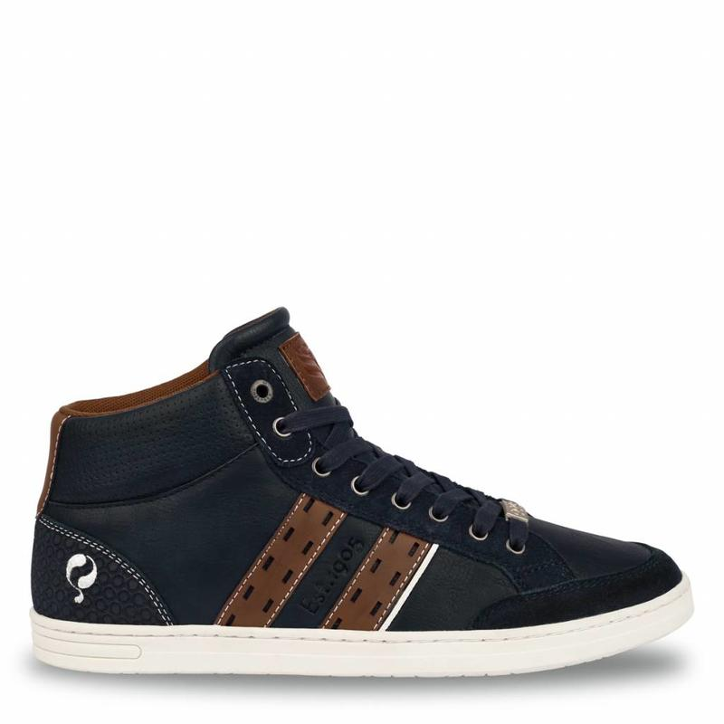 Q1905 Men's Sneaker Bryce Deep Navy / Cognac
