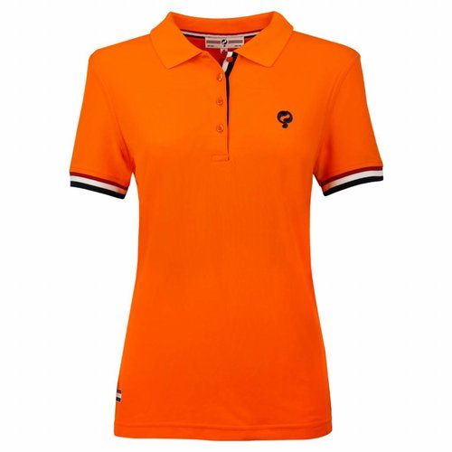 Dames Polo Joost Luiten Dutch Orange