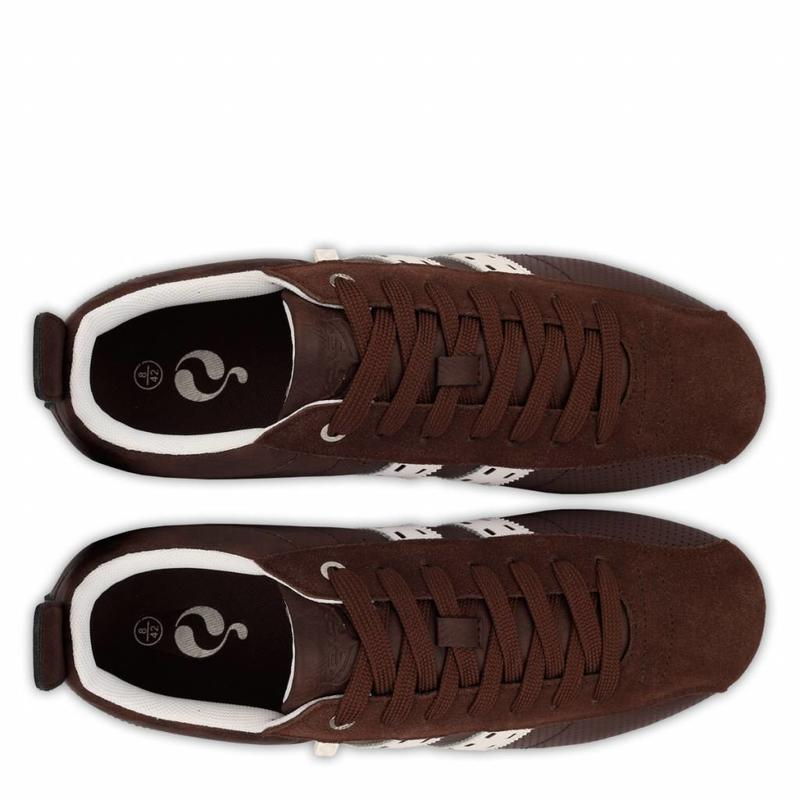 Men's Sneaker Typhoon SP Dk Brown / Cloud Dancer