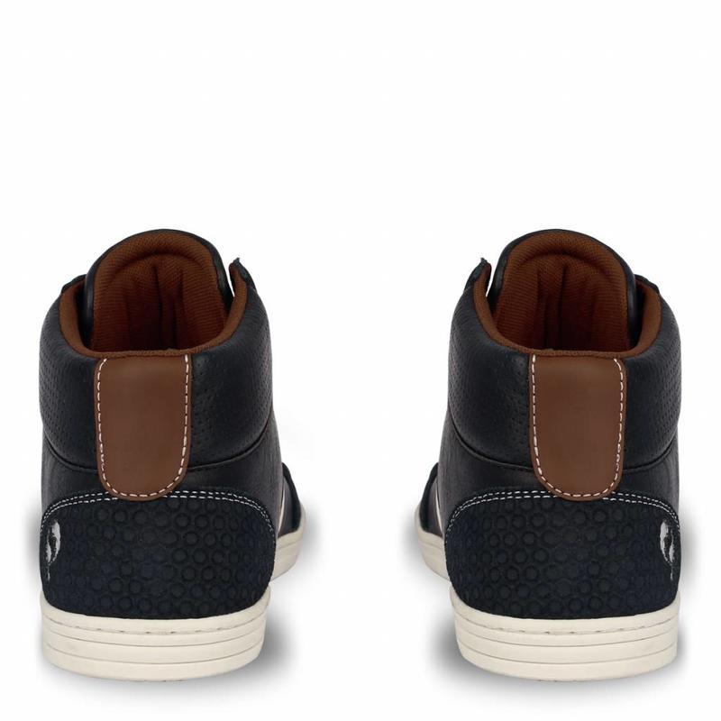 Heren Sneaker Bryce Deep Navy / Cognac