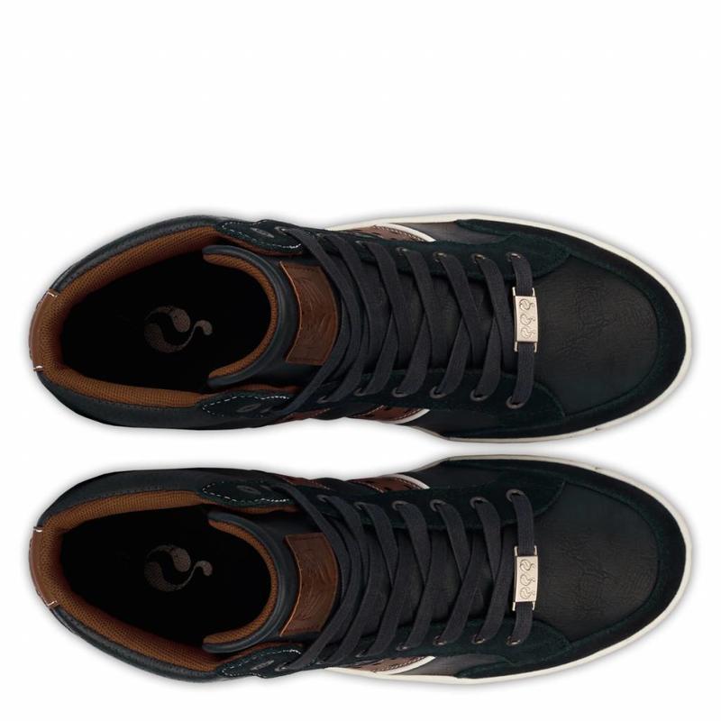 Men's Sneaker Bryce Deep Navy / Cognac