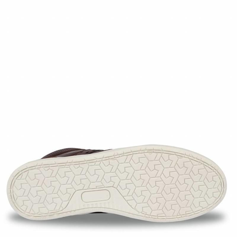 Men's Sneaker Bryce Dk Brown / Cognac