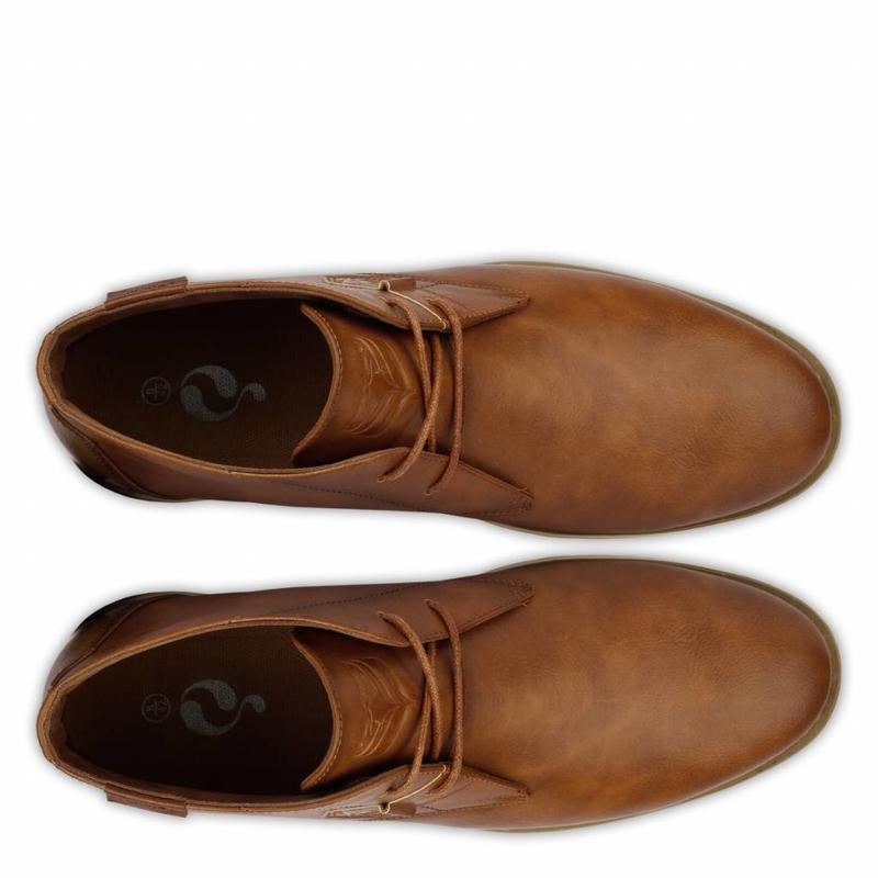 Heren Schoen Monza Tan Brown