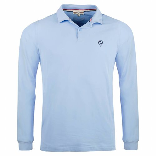 Men's Longsleeve Polo JL High Lt Azul