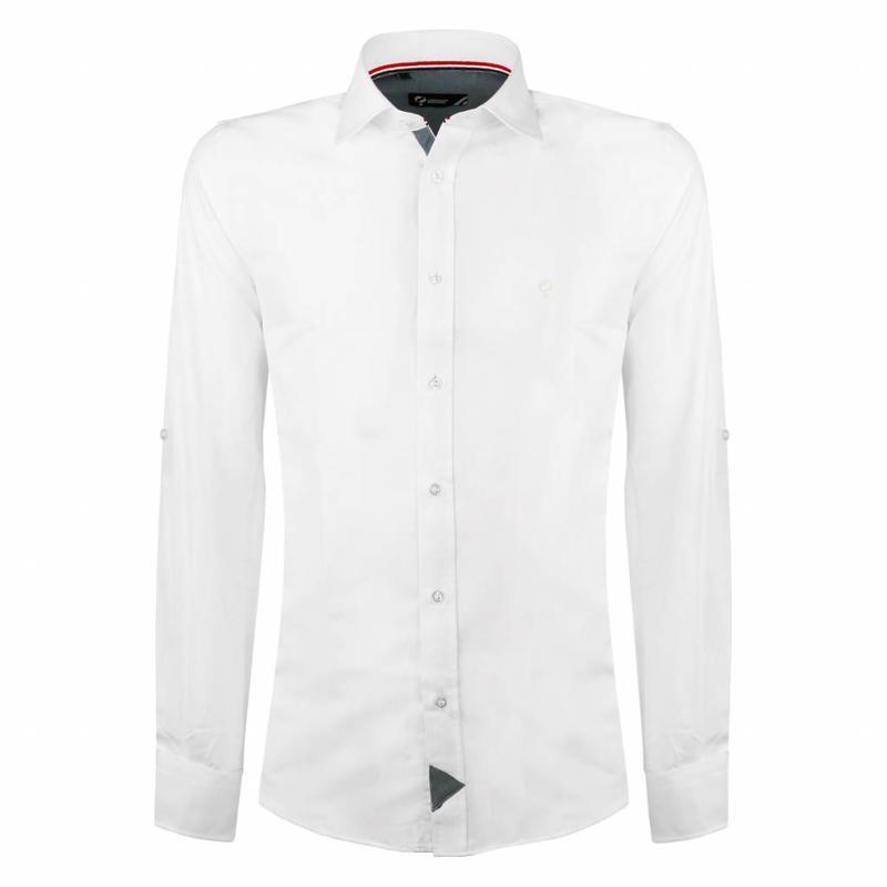 Heren Overhemd Wit