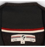 Heren Pullover Half Zip Stoke Antracite Silver / Black