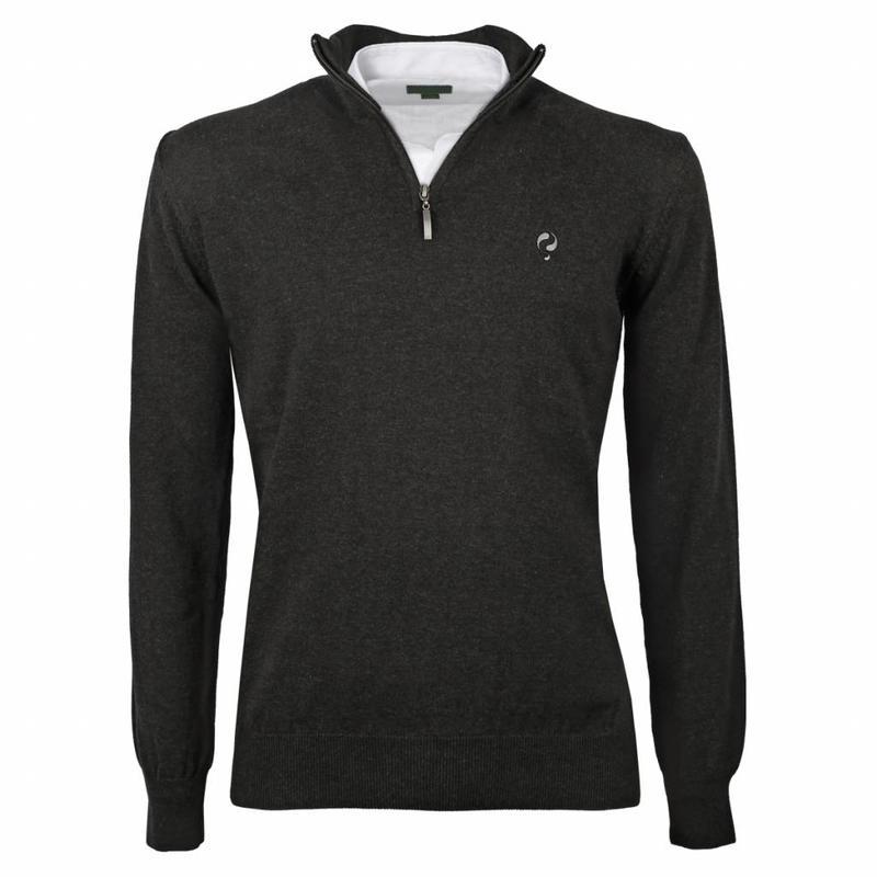 Men's Pullover Half Zip Stoke Antracite Silver / Black