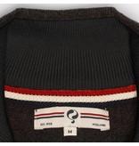 Men's Pullover Half Zip Stoke Antracite Black / Gold