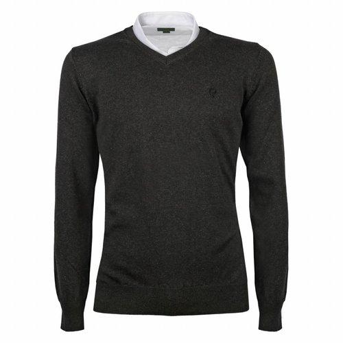 Heren Pullover V-neck Marden Antracite Antracite
