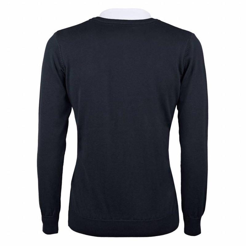 Men's Pullover V-neck Marden Deep Navy Navy / Red