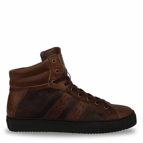 Heren Sneaker Mason Mid Brown / Cognac