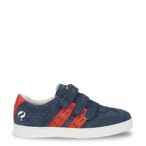 Kids Sneaker Legend '69 JR Jeans Blue / Red