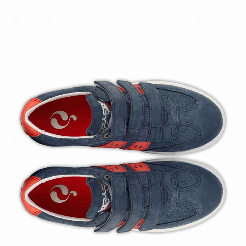 Kids Sneaker Legend '69 JR Jeans Blue / Red