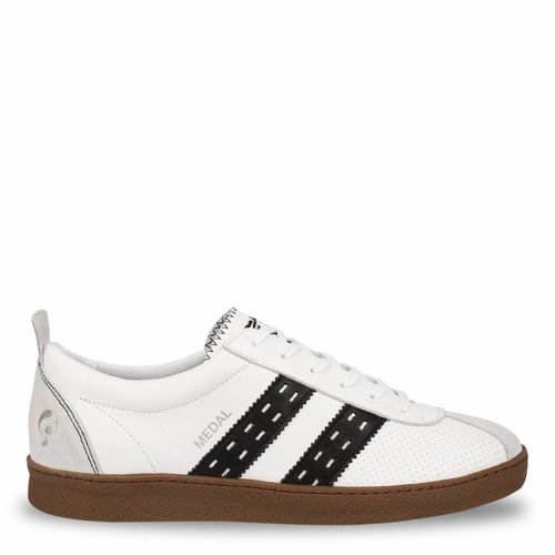 Heren Sneaker Medal White / Black