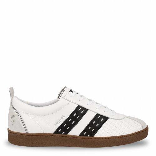 Heren Sneaker Medal White / Black