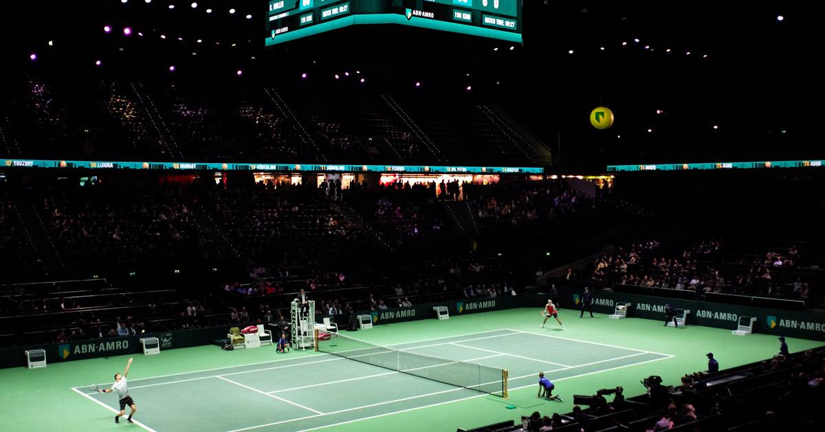 Win VIP-kaarten voor het 45e ABN AMRO World Tennis Tournament