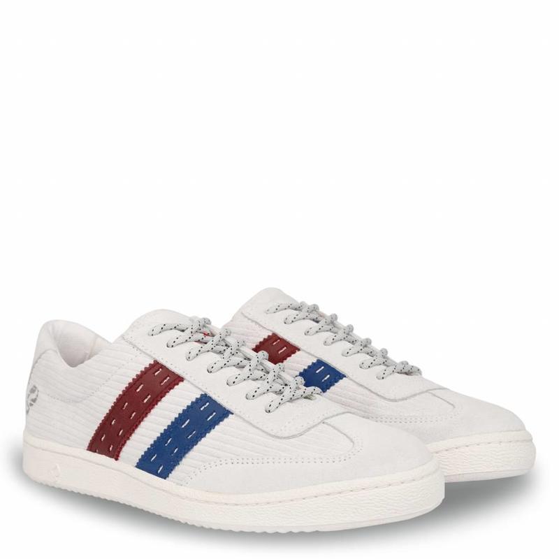Heren Sneaker Legend '69 Ice / Skydiver / Red