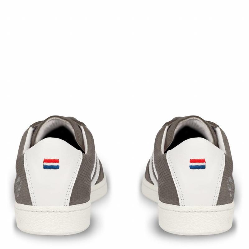 Heren Sneaker Legend '69 Stone Grey / White
