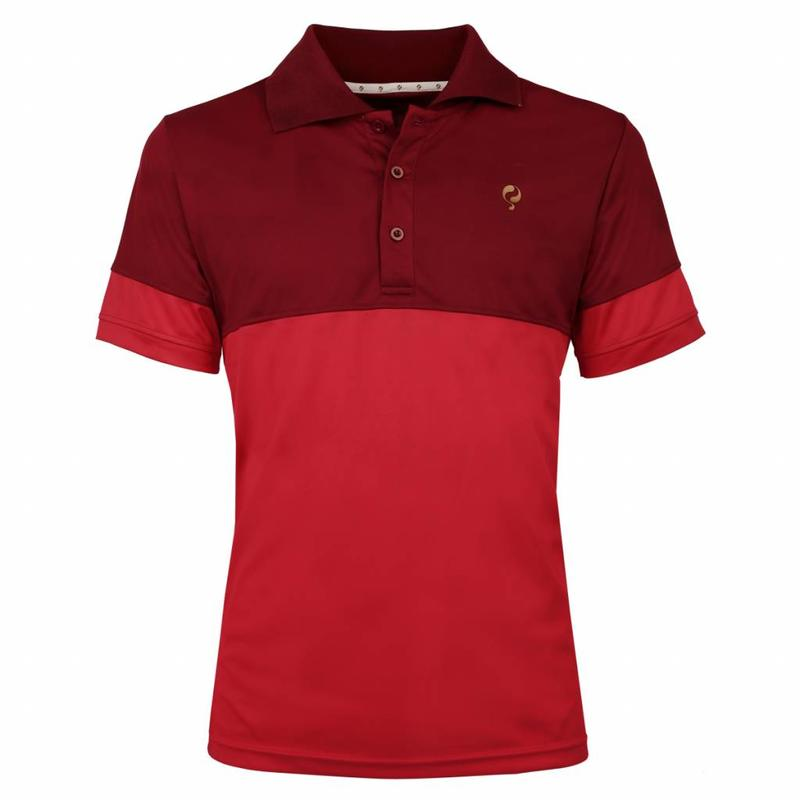 Men's Polo Pique Q Sundried Tomatoes
