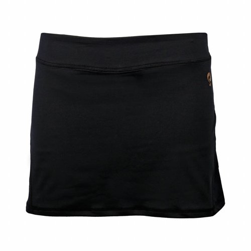 Dames Skort Brush Mesh Q Blue Graphite