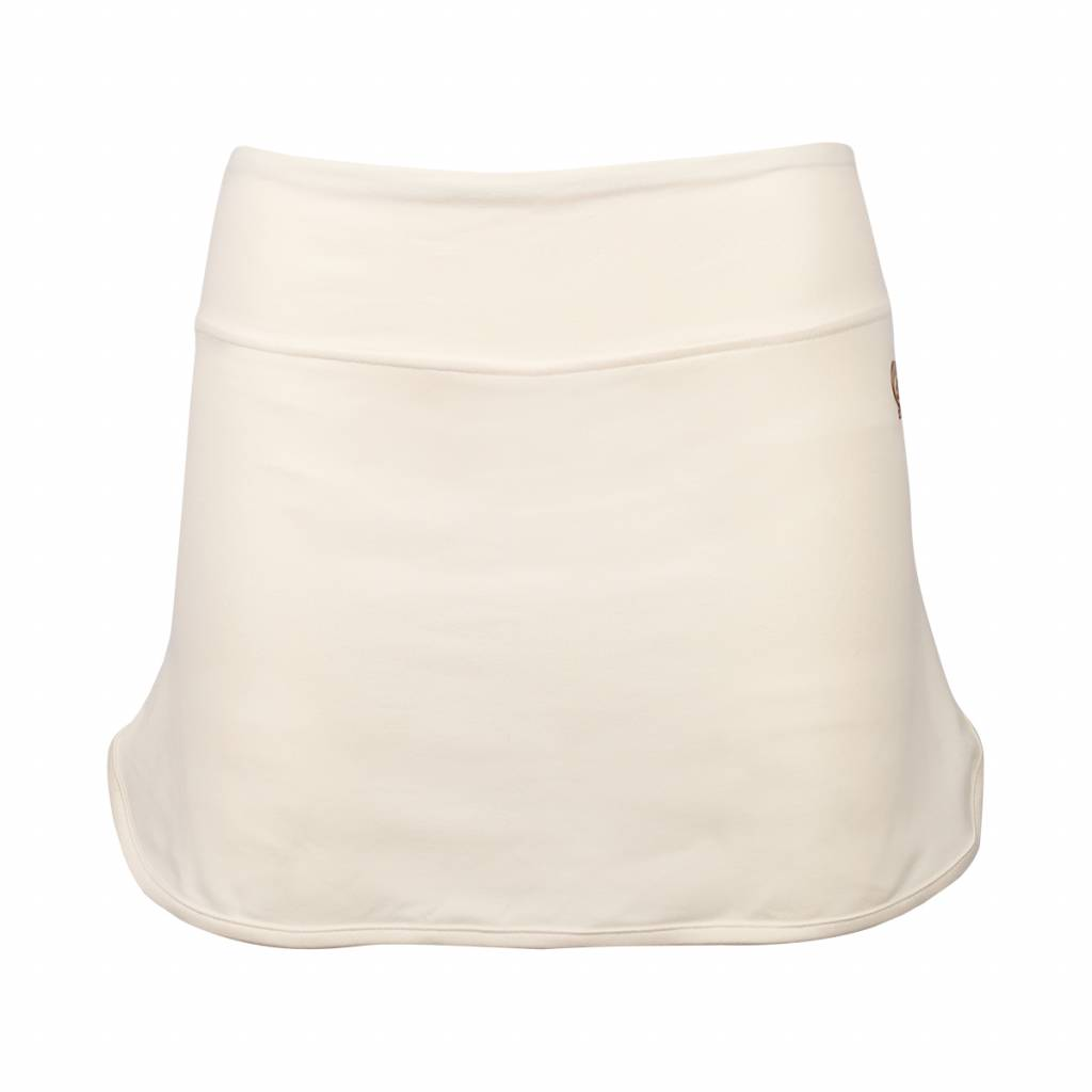 Dames Skort Brush Q Snow White